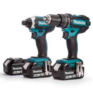 Makita Kit 18V DHP482 + DTD152 (3 x 3.0Ah Batteries)
