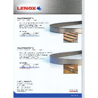 Lenox PalletMaster C-B Catalogue Band Saw Blades