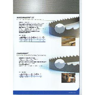 LENOX Woodmaster Ct-Chipsweep Catalogue Band Saw Blades